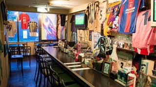 ファンタジスタカフェにて 日本の名城の条件からサッカーのダービーの話