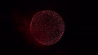 2019.8.31(秋田)大曲の花火 「我が故郷 =金色に染まる田園風景=」