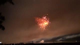 2019.8.31(秋田)大曲の花火 「夜のとばりが降りるころ、雷様がやってきた」