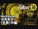 【初見実況】Fallout76 Vault94ソロ失敗 中編【Meltdown】