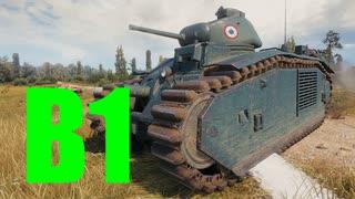 【WoT:B1】ゆっくり実況でおくる戦車戦Part600 byアラモンド