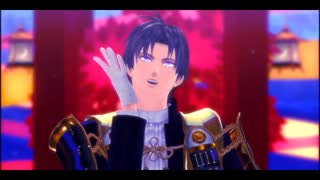 【MMD刀剣乱舞】スカイデアンナイト【大包平・大倶利伽羅・へし切長谷部】