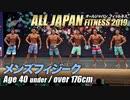 【オールジャパン2019】メンズフィジーク 40才未満 176cm超級【ビーレジェンド鍵谷TV】