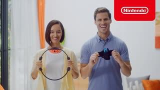 【Switch新作リングフィットアドベンチャー】Nintendo Switch向け 新商品 映像【TGS2019】