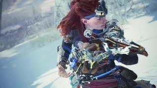 【TGS2019 MHW:I】『Horizon Zero Dawn:凍てついた大地』コラボ紹介映像