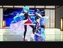 【脳漿炸裂ガール】初音ミク&Airiポン子(Weatheroid )【MMD】
