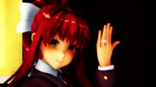 【MMD杯ZERO2予告】Monikaの恋愛裁判【MMD+緋惺UTAUカバー】