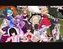 スカーレット姉妹と霊夢&魔理沙で《新幕》桜降る代に決闘を(4話)