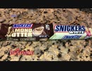 trying American candy : SNICKERS ALMOND BUTTER and SNICKERS WHITE