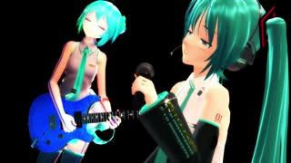 【MMD】【MMD杯ZERO2予告動画】「glow」 ギターパートA できたら追加配布予定