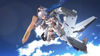 【MMD杯ZERO2予告動画】KAZEHIME -The wind princess- DEEP SKY 2049