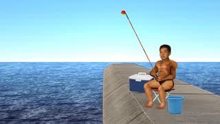 海釣り先輩