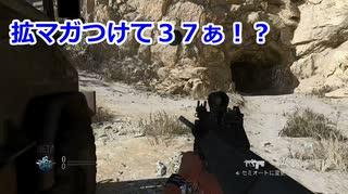 拡マガで37ぁ!? Call of Duty Modern Warfare Betaその17 加齢た声でゲームを実況