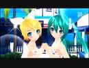 【PS3】初音ミク-Project DIVA- F『サマーアイドル((初音ミクSWみずたまビキニ・鏡音リンSWしましまビキニ)) PV』