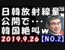 【海外の反応】日本と韓国ソウルの放射線量を河野防衛省が公開!韓国政府「ちょ、やめて…」