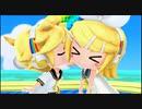 【3DS】初音ミク Project mirai でらっくす『逆さまレインボー(レン・リン)PV』