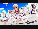 【MMD】らぶ式Saya・Rouge・Yuki・Chocolat・Mintで『Carry Me Off』1080p