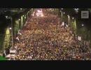 曺国法務長官を支持し検察改革を求める主催者発表100万人のローソク集会