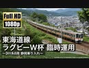 【JR東海】東海道線 ラグビーW杯 臨時運用 ~311系8両 静岡乗り入れ~
