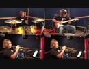 """【トランペット】""""千本桜""""を全部ひとりで演奏してみた by 西方正輝(トランペット、ギター、ピアノ、ドラム)"""