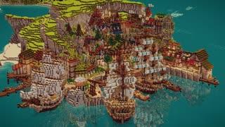 【Minecraft】孤島に王国を築く。【1】