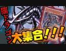真紅眼vsユベル!! 闇のドラゴン大集合!!!