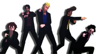 【MMDワンピ】Hysteric Bullet【白ひげ海賊団】