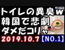 【海外の反応】韓国で悲劇!トイレの異臭で…、韓国政府は福島原発放射能とか言ってる場合じゃないぞ!