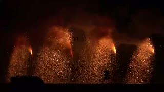 2019.10.5(徳島)にし阿波の花火 赤松吹筒花火