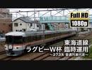 【JR東海】東海道線 ラグビーW杯 臨時運用 ~373系 普通列車代走~