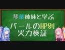 【白猫】HP別バールの火力検証【VOICEROID実況】