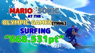 マリオ&ソニックAT東京オリンピック2020(体験版):サーフィン