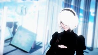 【MMDNieR】   シャルル (2B)  1080p
