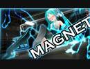 【磁力拘束】初音ミクが磁力でくっついてしまった!(Stuck in Magnet Trap for MMD)