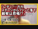 『レディー・ガガ ステージからファンと落下! 観客は悲鳴!?』についてetc【日記的動画(2019年10月19日分)】[ 202/365 ]