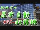 ドキッ!初心者だらけのマインクラフト【2人実況】part23