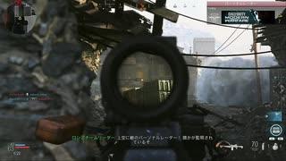 3倍スコープPKM Call of Duty Modern Warfare ♯6 加齢た声でゲームを実況