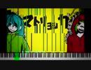[黒楽譜]マトリョシカの譜面をカラフルにしてみたよ / ハチ - 米津玄師 [(Re)Blacked by Gen'you]