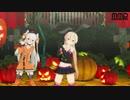 【MMD杯ZERO2参加動画】島風と天津風の『Happy Halloween』(モデル配布)
