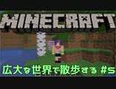 【実況プレイ】広大な世界で散歩する【Minecraft】【第四回】#5