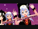 """【MMD】ときのそら&友人Aで""""Happy Halloween""""【1080p/60fps】"""