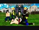 【MMD杯ZERO2参加動画】ブリキノダンス(かまぼこ隊+キメツ学園)【鬼滅のMMD】