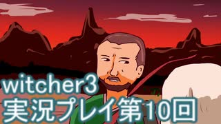 探し人を求めてwitcher3実況プレイ第10回