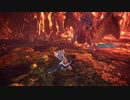 [MHWI Hidden HUD]『太陽の証』チャージアックス ソロ HUD非表示 [TA wiki rules] Teostra Charge Blade