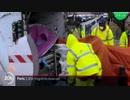 パリ近郊で路上生活する不法移民のテント村を一斉に強制撤去...