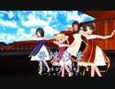 『曼珠沙華』 【MMD杯ZERO2参加動画】 海野美雨モデル更新配布  歌:ふぉっくす紺子、歌愛ユキ、海野美雨 おねーちゃん(KEITEL式JK)
