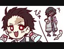 鬼i滅のi刃でコiンビiニ【手描き】