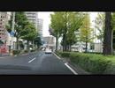 仙台近辺車載動画シリーズ 54 県庁裏、上杉通り、旧4号ドンキ前