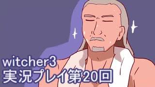 探し人を求めてwitcher3実況プレイ第20回
