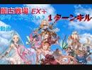闇古戦場EX+1タ-ンキル参考?動画